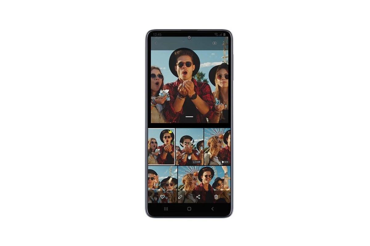 واجهة Samsung Galaxy M31s