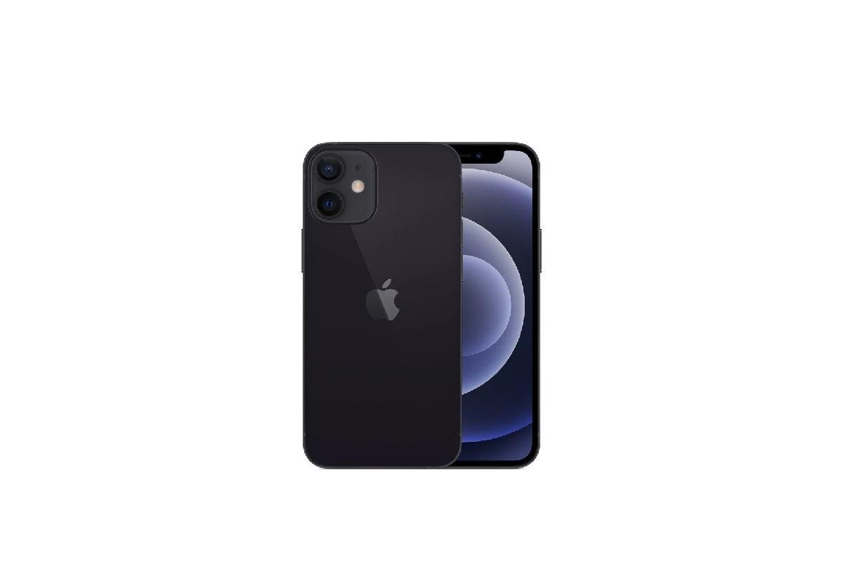 اللون الاسود Apple iPhone 12 mini