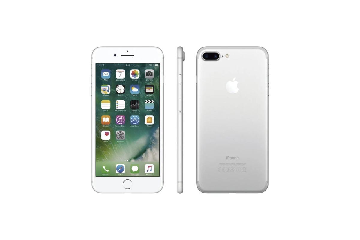 الابيض Apple iPhone 7 plus