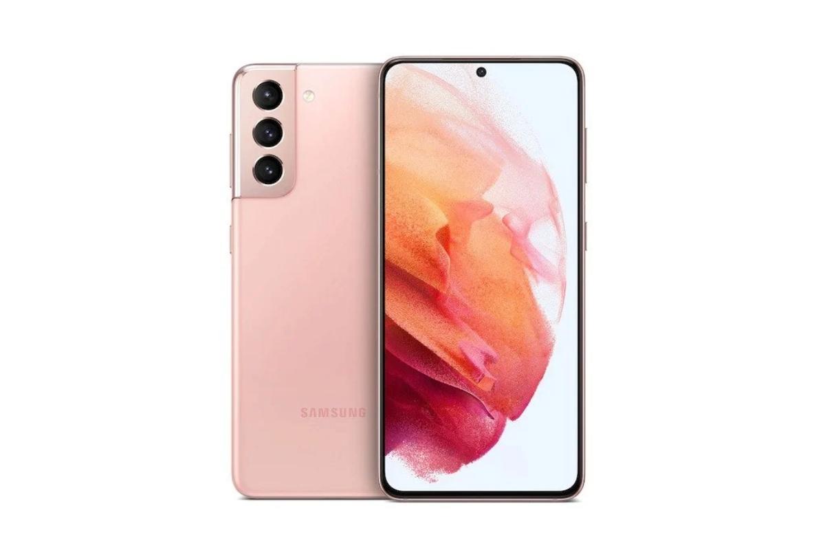 لون وردي Samsung Galaxy S21 5G