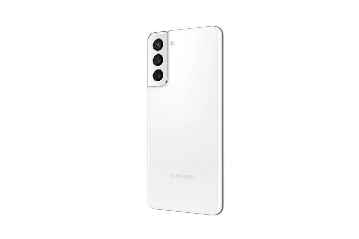 لون ابيض Samsung Galaxy S21 5G