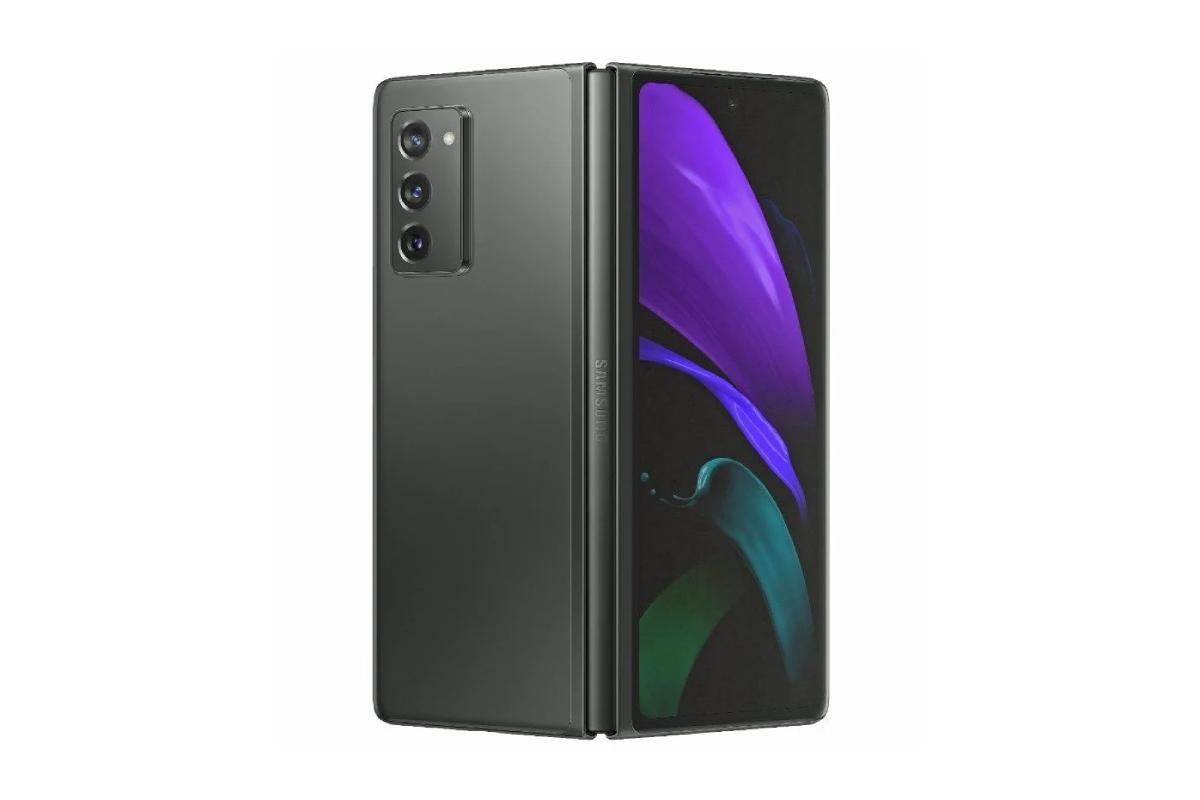 اللون الاسود Samsung Galaxy Z Fold 2