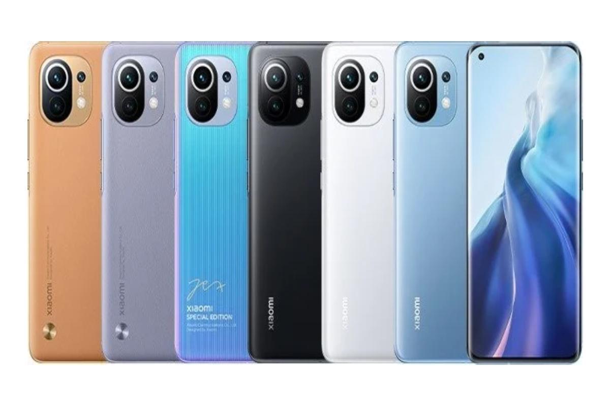 الوان Xiaomi Mi 11