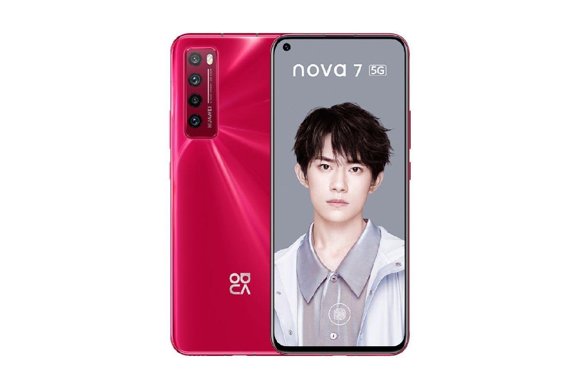 شاشة Huawei Nova 7 5G